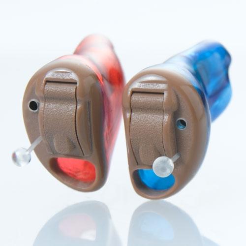 aparaty sluchowe typu CIC
